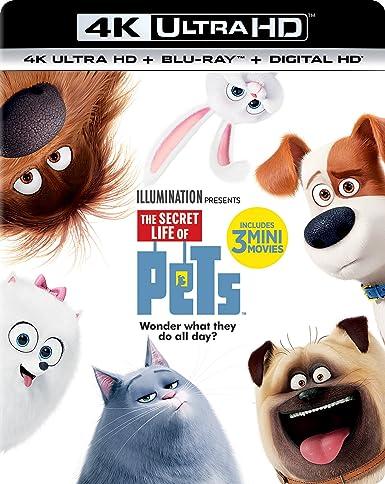 The Secret Life of Pets (4K Ultra HD + Blu-ray + Digital HD)