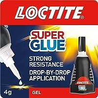 Loctite Super Glue Power Gel, flexibele Super Glue Gel, Superglue met Non-Drip Formule voor verticale toepassingen…