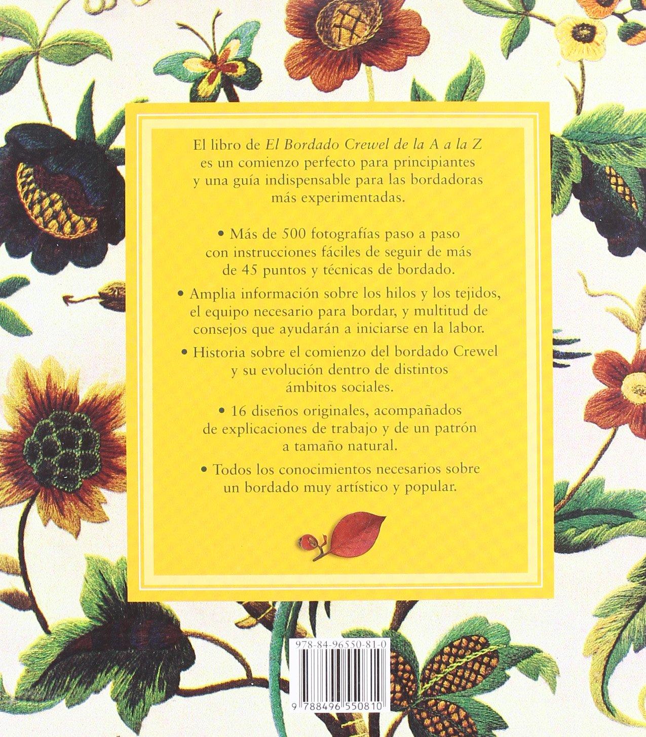El Bordado Crewel De La a La Z: Unknown: 9788496550810: Amazon.com: Books