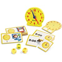 Learning Resources LER3220 Teaching Material Toy Clock