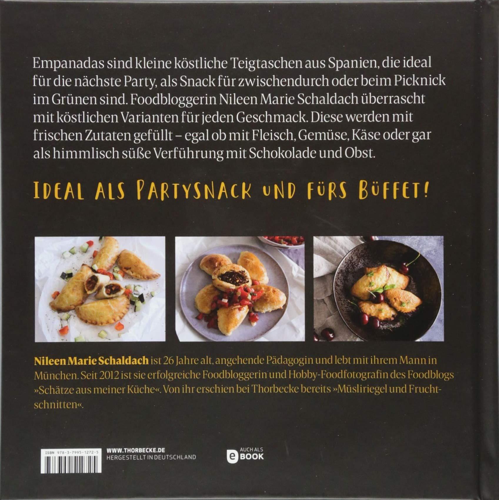 Empanadas: Gefüllte Teigtaschen süß & herzhaft: Amazon.de: Nileen ...