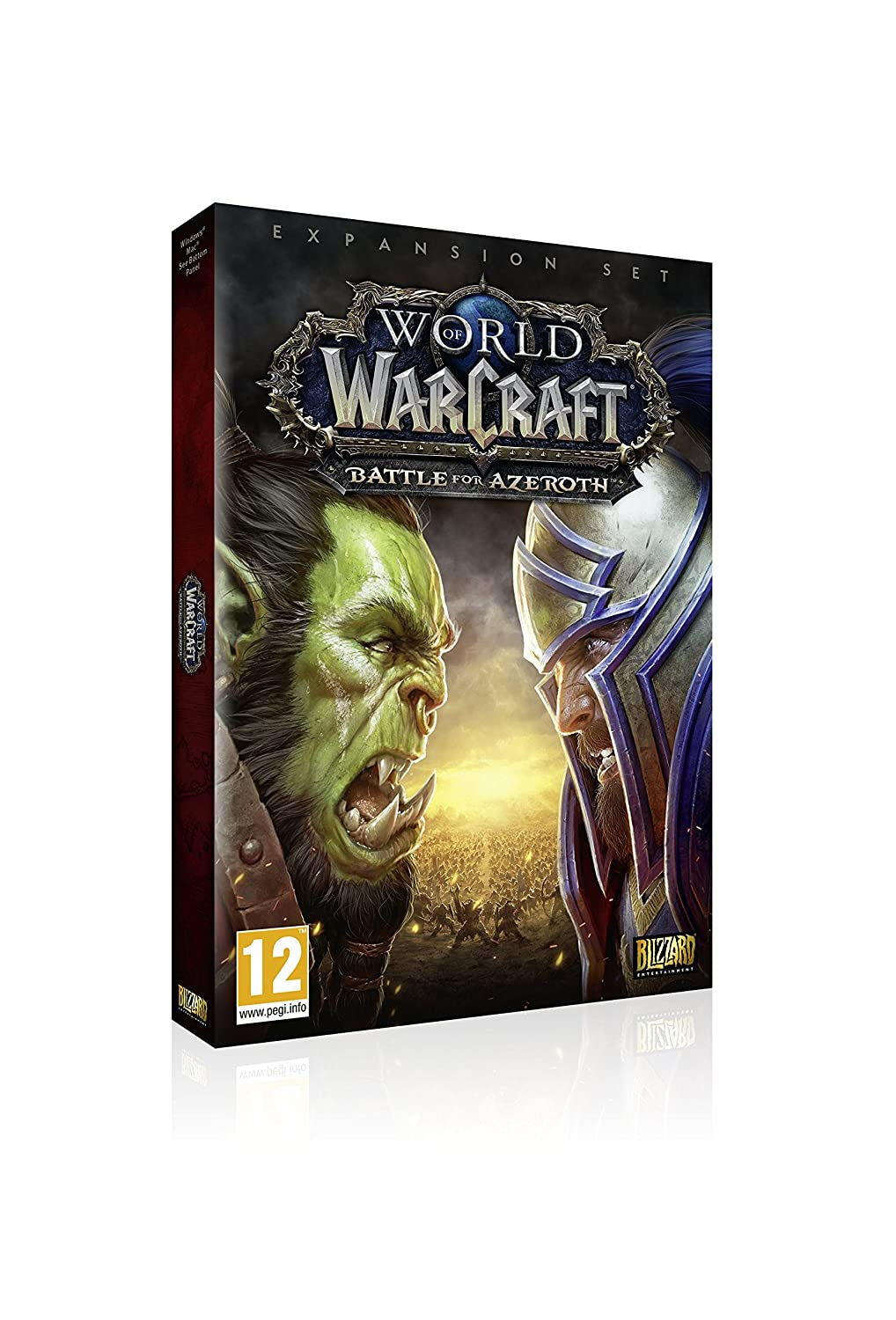 World of Warcraft Battle of Azeroth (PC DVD) [Importación ...