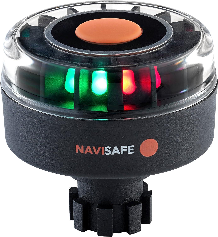 NAVISAFE PORTABLE TRI-COLOR NAVIGATION LIGHT