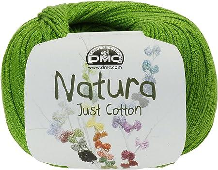 DMC Hilo Natura, 100 % algodón, Color Verde Chartreuse N48: Amazon.es: Hogar