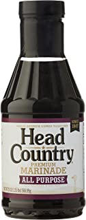 product image for Head Country Bar-B-Q Sauce, All Purpose Premium Marinade, 20 Ounce (Pack of 6)