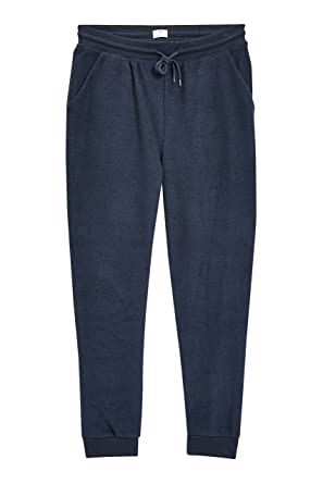 next Hombre Pantalones De Chándal Bajo Felpa Azul Marino XXLGE ...