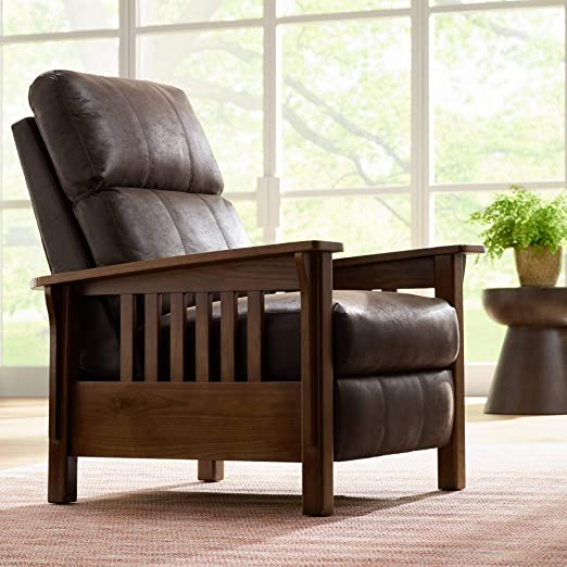 Evan Palance Dixie Espresso 3-Way Recliner Chair