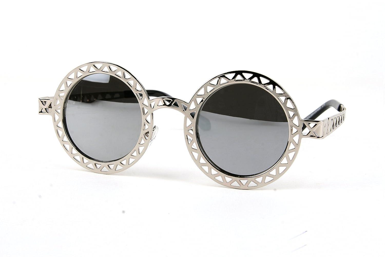 Vintage Unique Design Metal Round Funky Sunglasses P2207