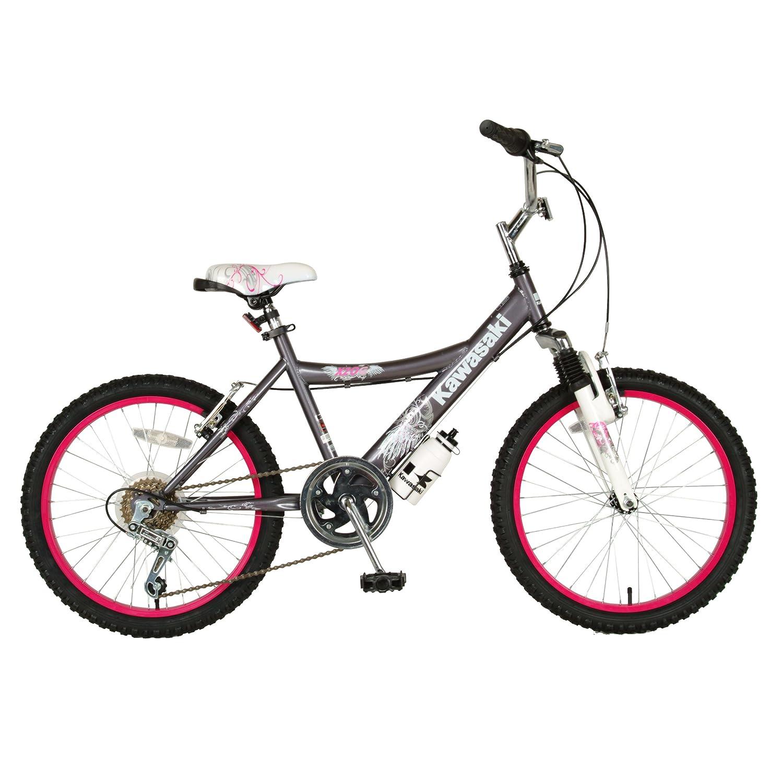 amazon com kawasaki kid u0027s bike 20 inch wheels 12 inch frame