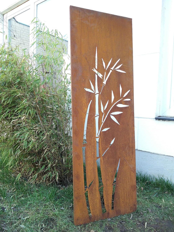 Garten Sichtschutz aus Metall Rost Rost Rost Gartenzaun Gartendeko edelrost Sichtschutzwand 031344-2 150502cm 277c9e