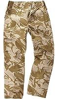 6 Pocket Camouflage Combat Cargo Trousers - British Desert