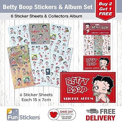 Betty Boop Sticker Album 6 Sheets: Kitchen & Dining
