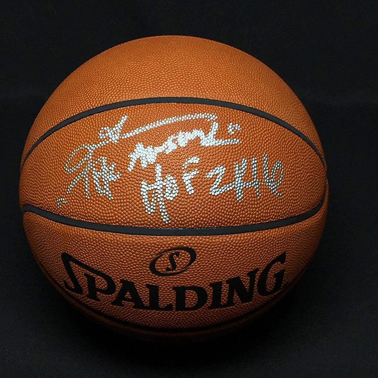 7c11fe98056 Allen Iverson Autographed Signed Authentic Nba Game Basketball The Answer/ Hof 2K16 Memorabilia PSA/DNA 464 at Amazon's Sports Collectibles Store