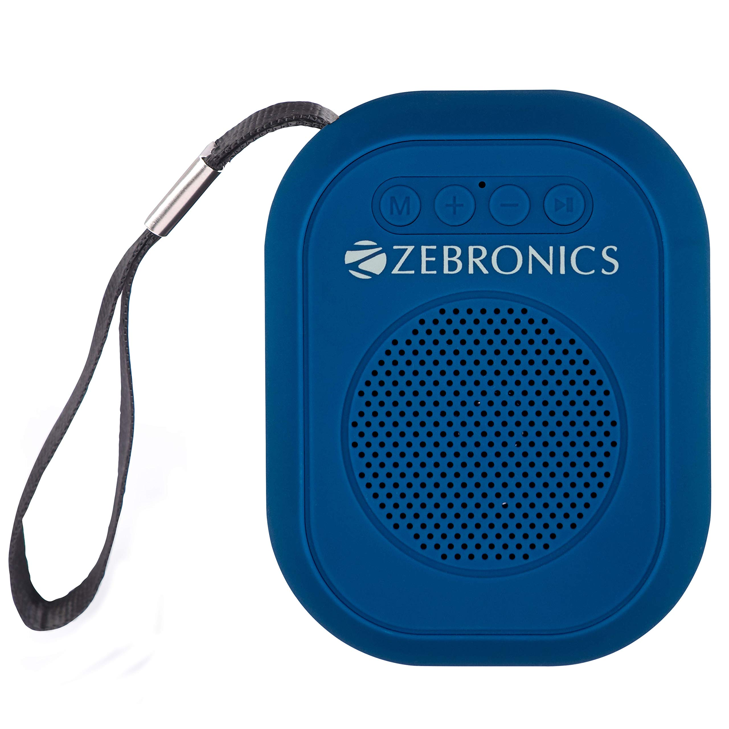 Zebronics Zeb-SAGA Ultra Portable BT Speaker with mSD, USB, AUX, FM & Mic (Blue) (B07N7DJS1W) Amazon Price History, Amazon Price Tracker