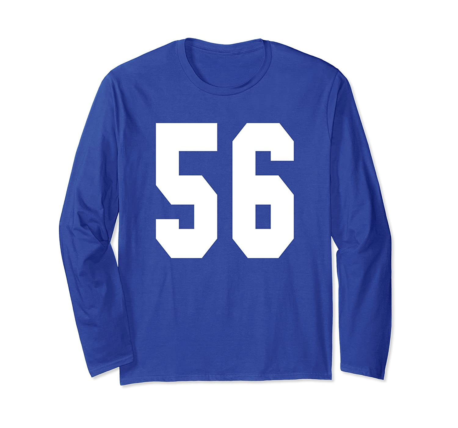 # 56 Team Sports Jersey Front & Back Number Player Fan Tee-mt
