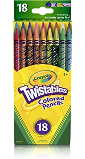 crayola 18 ct twistables colored pencils - Crayola Colored Pencils Twistables