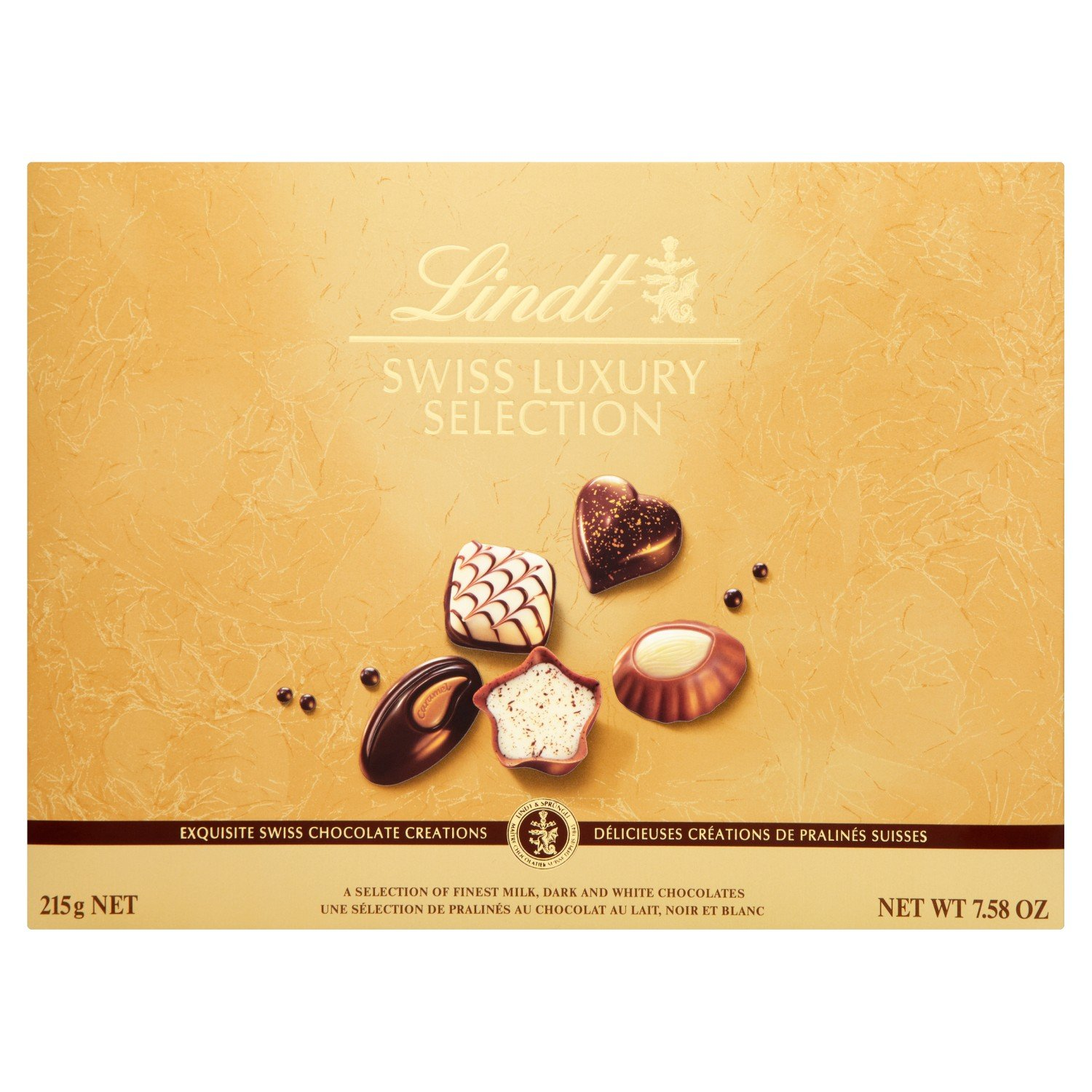 Lindt Swiss Luxury Selection (215g)