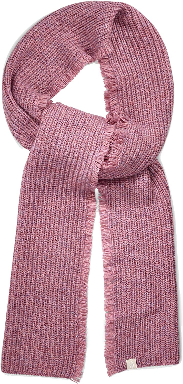 UGG Side Fringe Knit Scarf