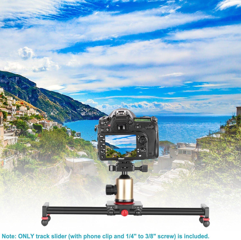80 cm Schwungrad-Gegengewicht verstellbare Beine Tragetasche DSLR-Kamera-Camcorder-Schiene Neewer Kamera Schienen Schieberegler Dolly-Schienenstabilisator
