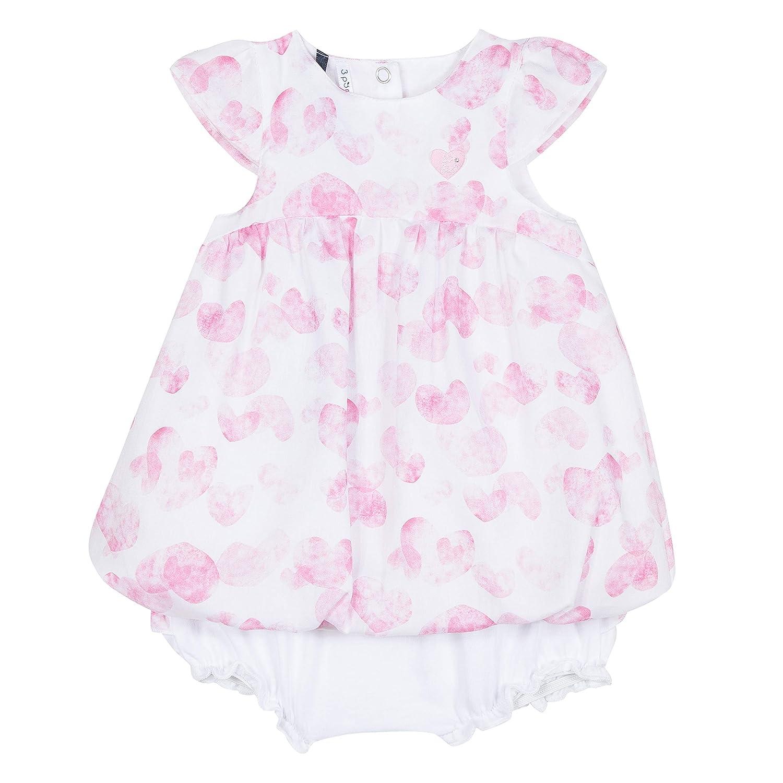 51e96897dc719 3 Pommes Robe Bébé Fille: Amazon.fr: Vêtements et accessoires