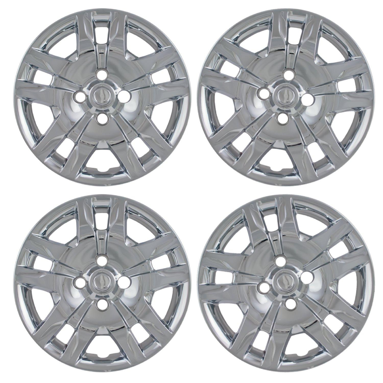 Chrome 16'' Bolt on Hub Cap Wheel Covers for Nissan Sentra - Set of 4