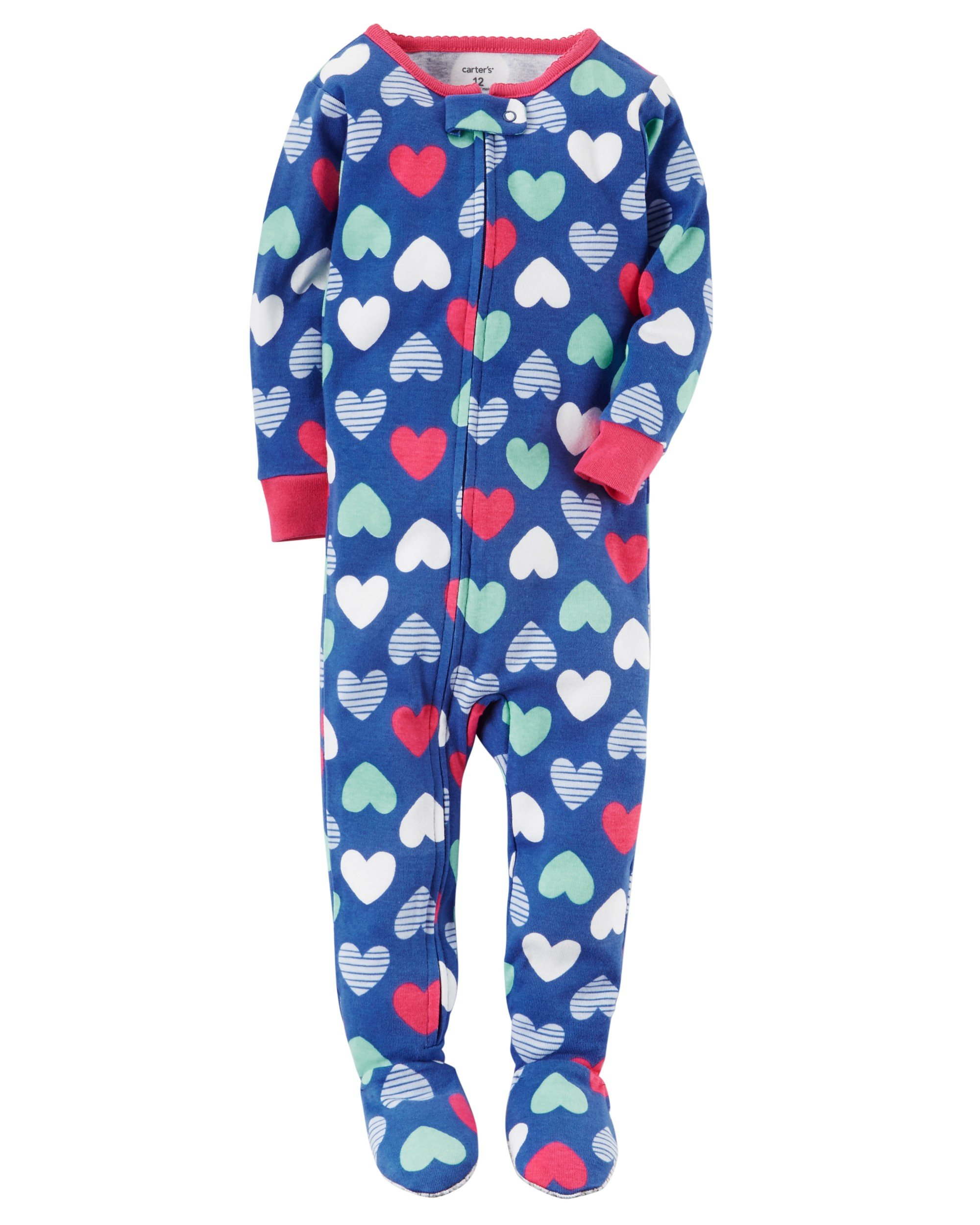 sleepers blanket printed one flannel piece itm love sleeper details pajamas just about