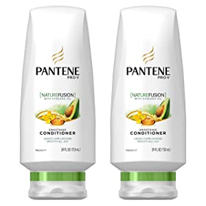 Pantene Pro-V Nature Fusion Smoothing Conditioner with Avocado Oil 24 fl oz (Pack of 2)