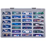 Adam Case Compatible with Hot Wheels Cars Gift Pack. Toy Cars Organizer Storage Container Holds Up to 27 Hotwheels Car. Displ