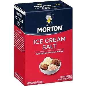 Morton Ice Cream Salt, 4 lb