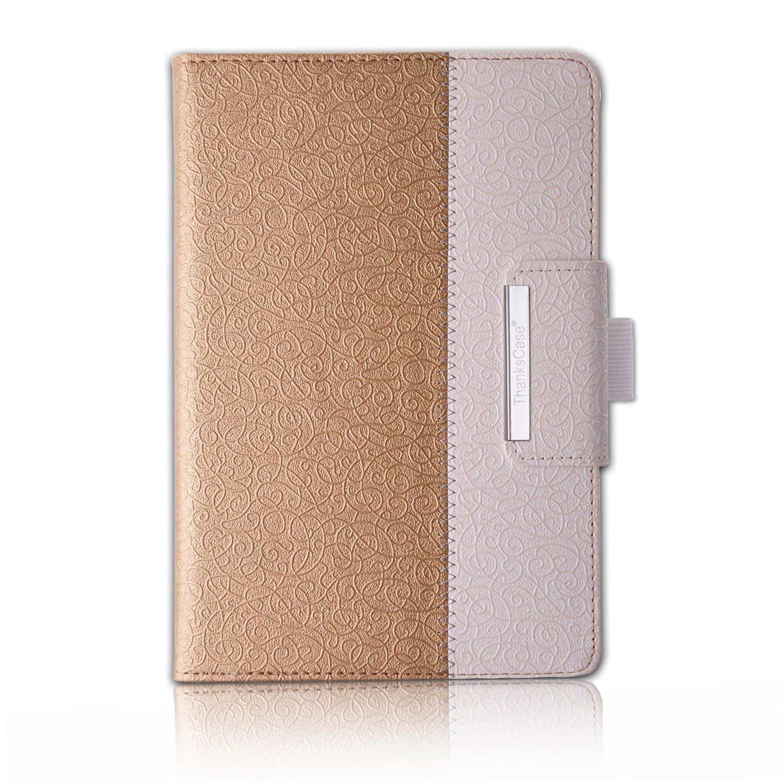 Thankscase回転するケースカバー iPad Pro 9.7用ケース 財布ポケット ハンドストラップ オートスリープ/解除 iPad Pro 9.7 Rotating Case ゴールド LA8021-IPP97GO B01E6V37LW iPad Pro 9.7 Rotating Case|ゴールド ゴールド iPad Pro 9.7 Rotating Case