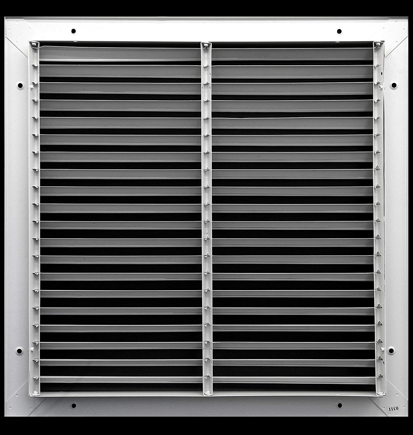 Outer Dimensions: 13.75w X 13.75h Elegant Look /& Sturdy Finish 12 x 12 Fixed Bar Return Grille All Steel Structure HVAC Premium CECOMINOD079782