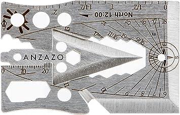 Amazon.com: Anzazo Credit Card Multitool - Multi Purpose ...