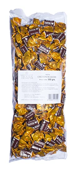 Trapa Creminos Bolsa de Bombones Chocolate con Leche - 500 gr