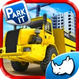 Hard Mining Truck Drive and Park