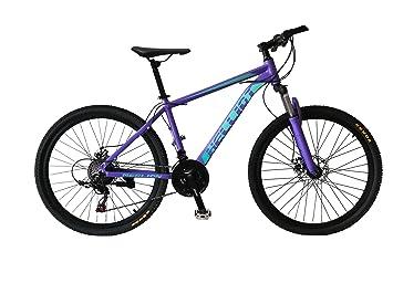 Helliot Bikes Merlion Bicicleta de montaña, Adultos Unisex, Lila, M-L: Amazon.es: Deportes y aire libre