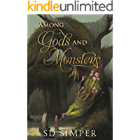 Among Gods and Monsters (Fallen Gods Series Book 2) book cover