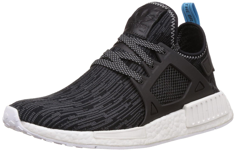 Black, bluee Adidas Originals Men's Primeknit NMD_R1 Running shoes (Black)