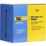 Tacwise 0385 80/14mm Staples, 1 Pack x 10,000 Staples