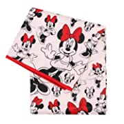 Bumkins Disney Minnie Mouse Splat Mat, Waterproof, Washable for Floor or Table, Under Highchairs, Art, Crafts, Playtime