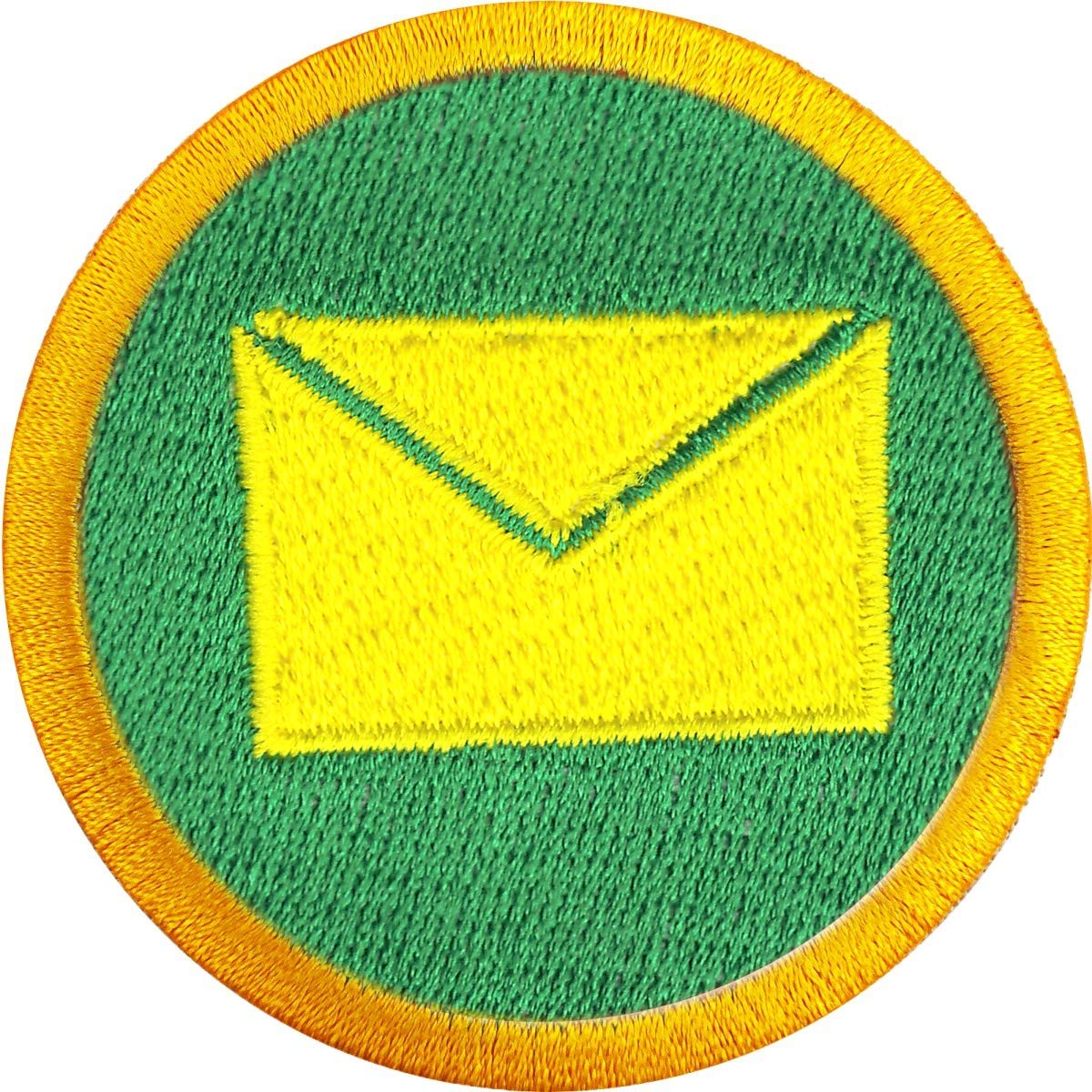Mail Delivery Wilderness Scout Merit Badge Iron on Patch by Patch Collection