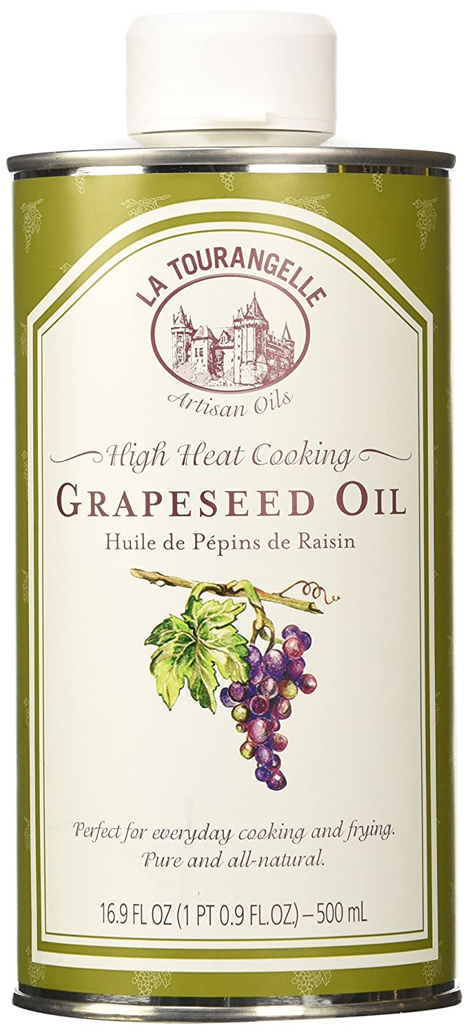 La Tourangelle Oil Grapeseed 169 Oz Pack Of 2 70off Borges 500 Ml