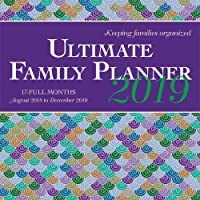 Ultimate Family Planner 2019 Square Wall Calendar