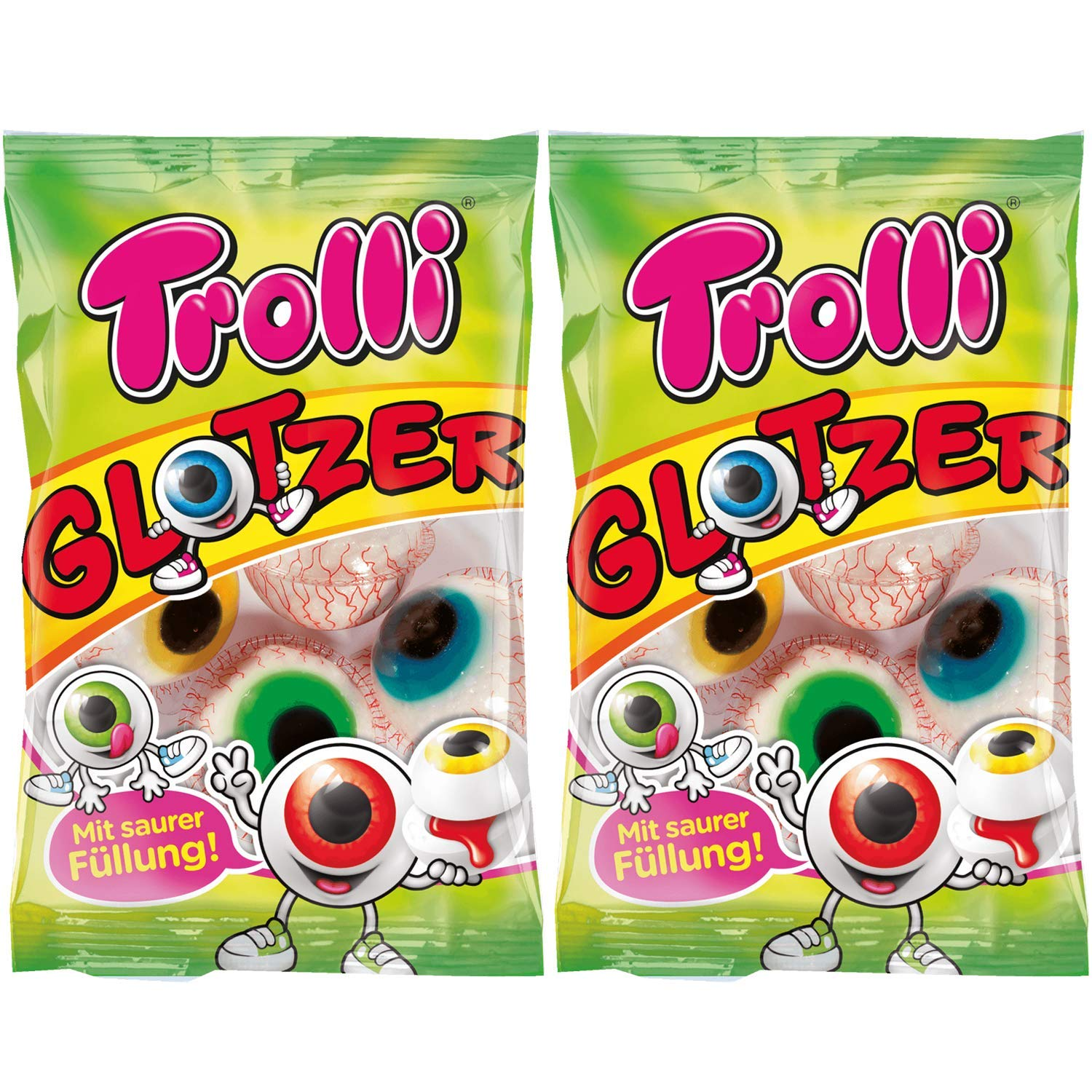 Gummy Eyeballs Candy