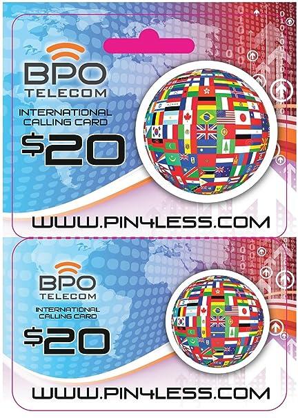 20 international europe calling card pinless dialing no hidden fees or gimmicks - Pinless Calling Card