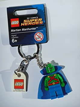 LEGO Super Heroes: Martian Manhunter Llavero: Amazon.es ...