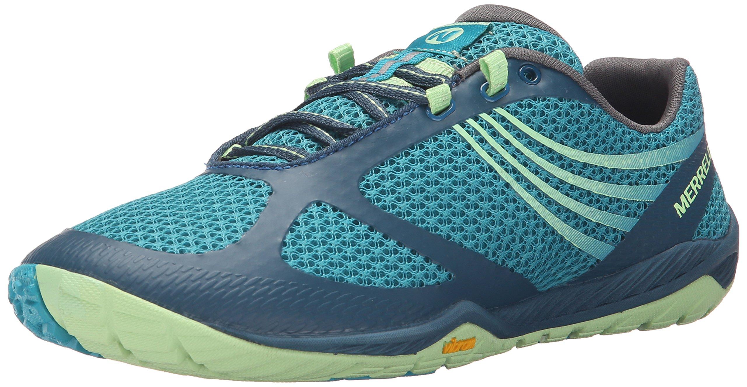 Merrell Women's Pace Glove 3 Trail Running Shoe, Turquoise, 8.5 M US