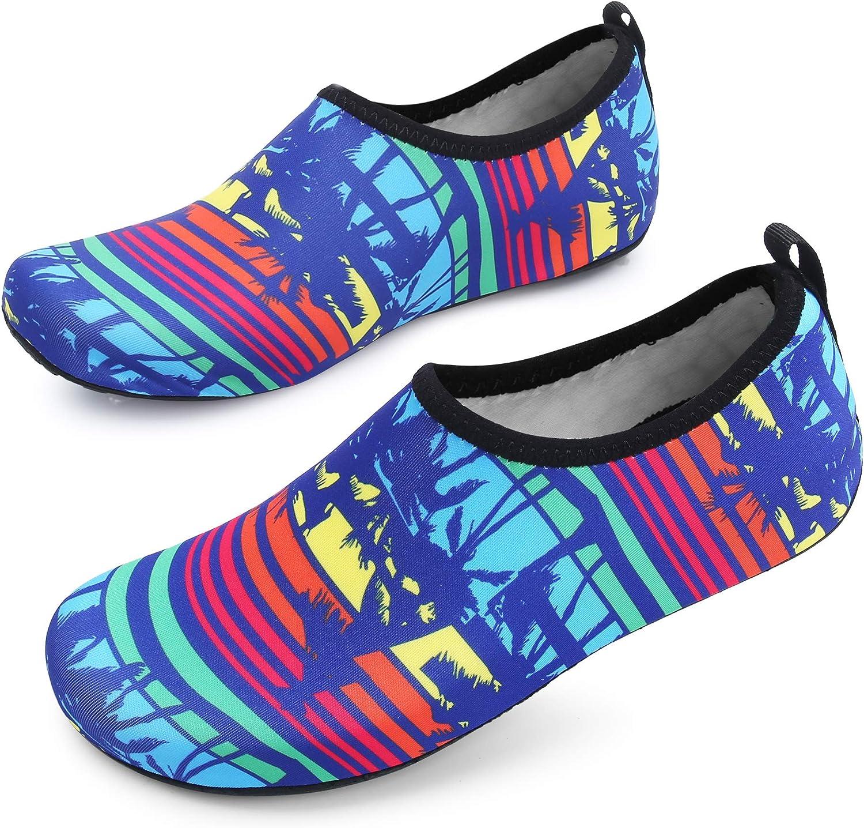 MoreDays Non-Slip Water Sport Shoes Light Barefoot Quick Dry Aqua Socks Beach Pool Swimming Yoga Exercise