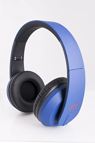 52e7766884e Amazon.com: Malektronic Gravity Wireless Headphones - Bolts Blue: Cell  Phones & Accessories