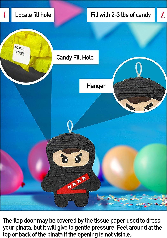 Amazon.com: Pinata Ninja Negra: Toys & Games