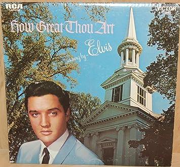 Elvis Presley How Great Thou Art Sealed Vinyl Lp Rca Victor
